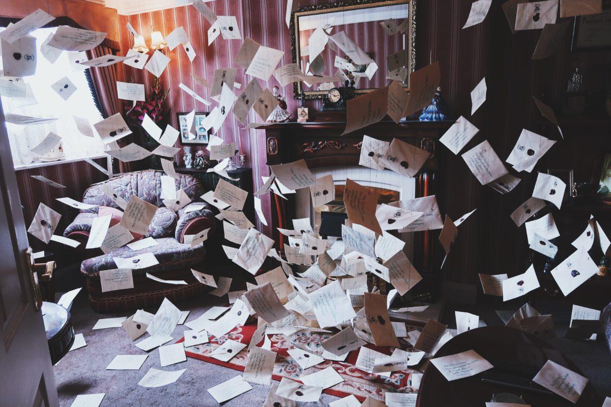 lettres chez les dursley