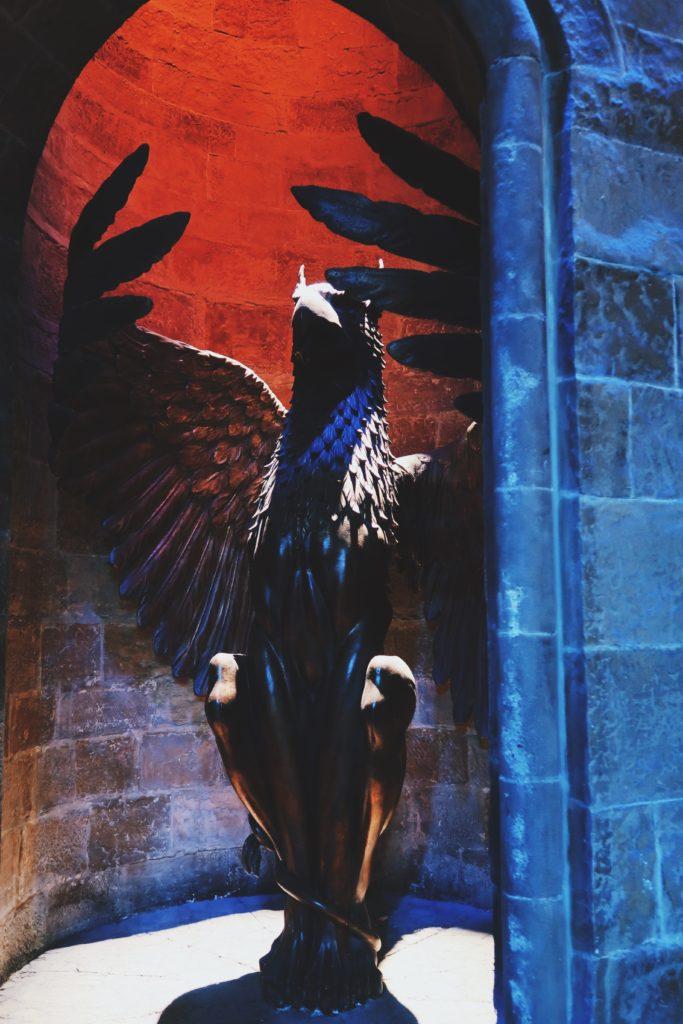 entrée bureau dumbledore