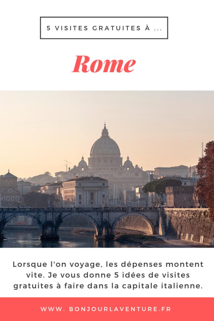 visites gratuites rome