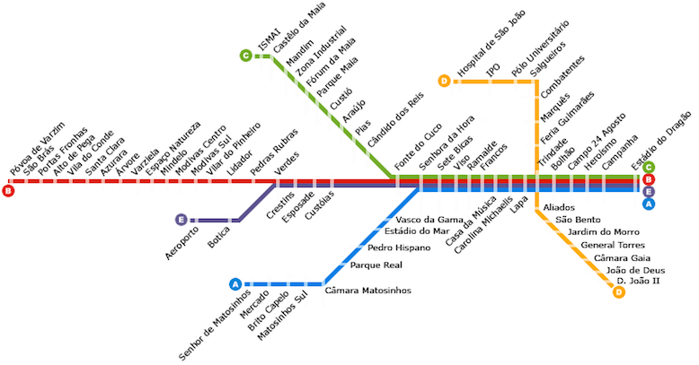 porto metro plan