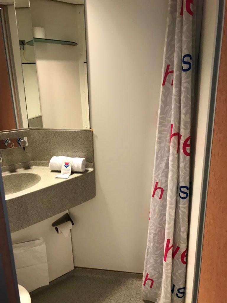 cabinn metro hotel salle de bain